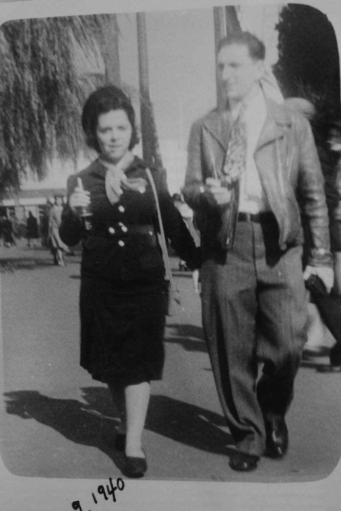 Sam and Rosalind Tellerman at '39 Fair