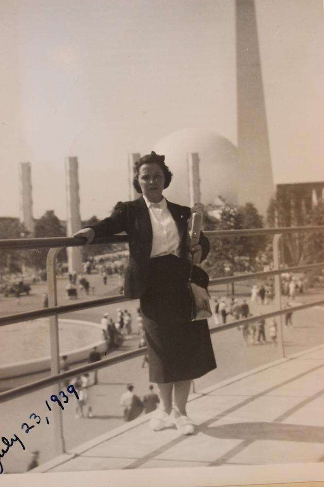 Rosalind Tellerman (Wife) at at '39 Fair