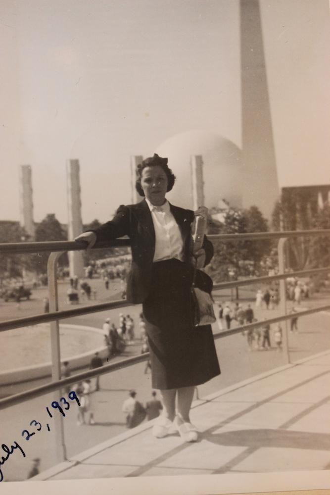 Rosalind Tellerman (Wife) at at '39 Fair