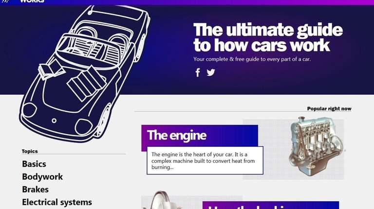 Howacarworks.com gives the ABC's of auto mechanics.
