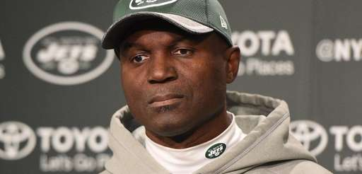 Jets coach Todd Bowles speaks after practice on