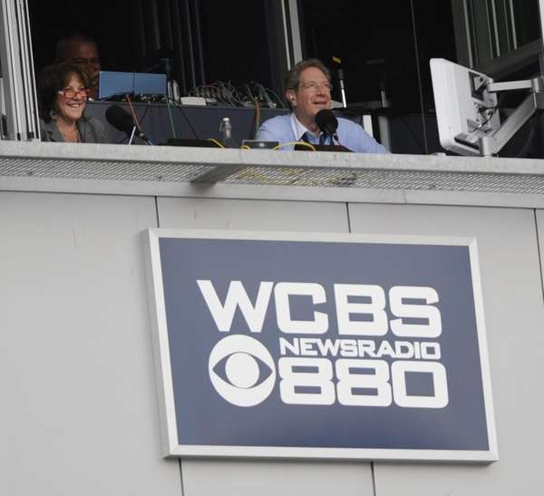 John Sterling in the WCBS 880 AM broadcast