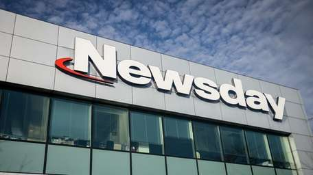 Newsday's headquarters in Melville, Friday, Feb. 24, 2017.