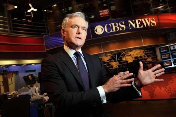 """Scott Pelley, anchor of """"CBS Evening News,"""" seen"""