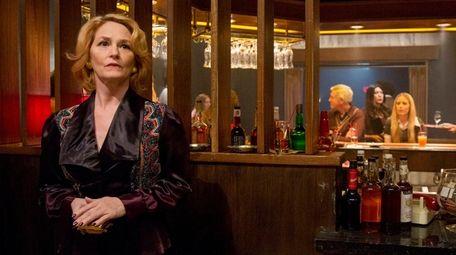 Melissa Leo stars as club owner Goldie in