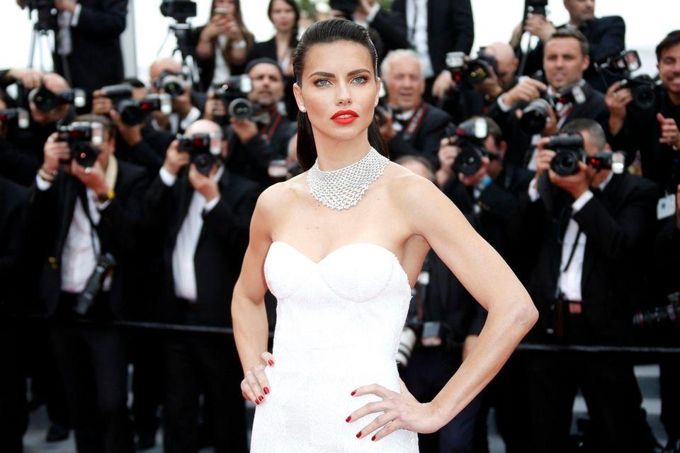 Brazilian model Adriana Lima was born on June