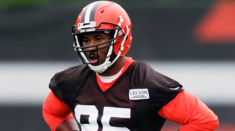Cleveland Browns' MylesGarrett, the No. 1 overall draft