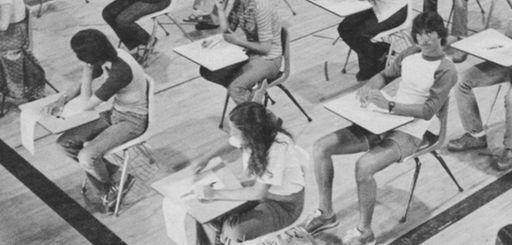 Students at Earl L. Vandermeulen High School in
