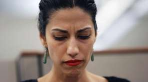 Huma Abedin filed to divorce Anthony Weiner earlier