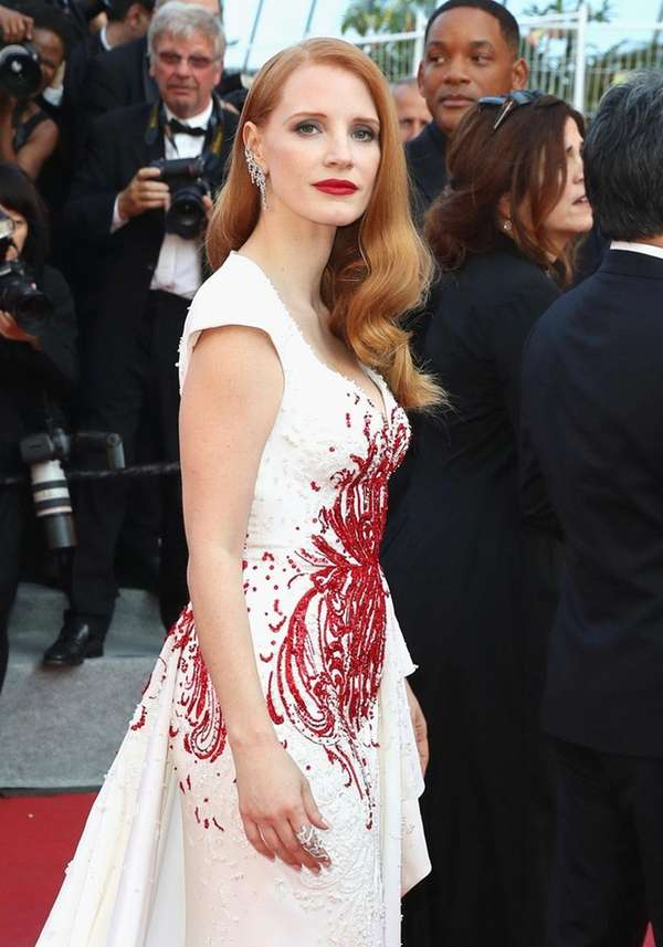 Jessica Chastain, a jury member at the recent