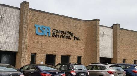 The exterior of TSR, a recruiting firm based