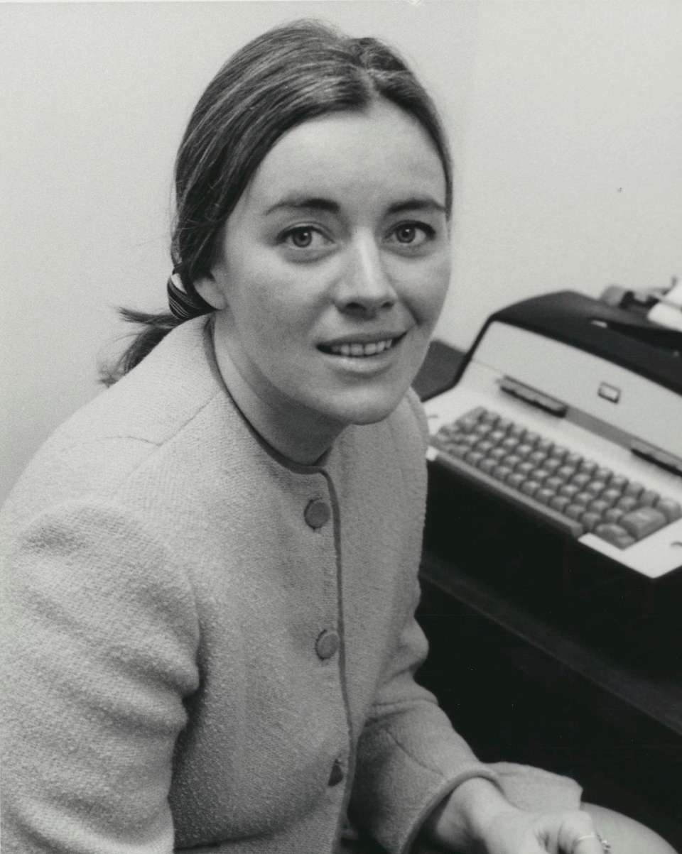 Undated photo of newscaster Sylvia Chase