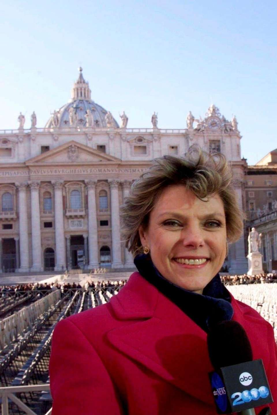 Cokie Roberts reports from (Vacitan City)Rome,Italy,on the worldwide