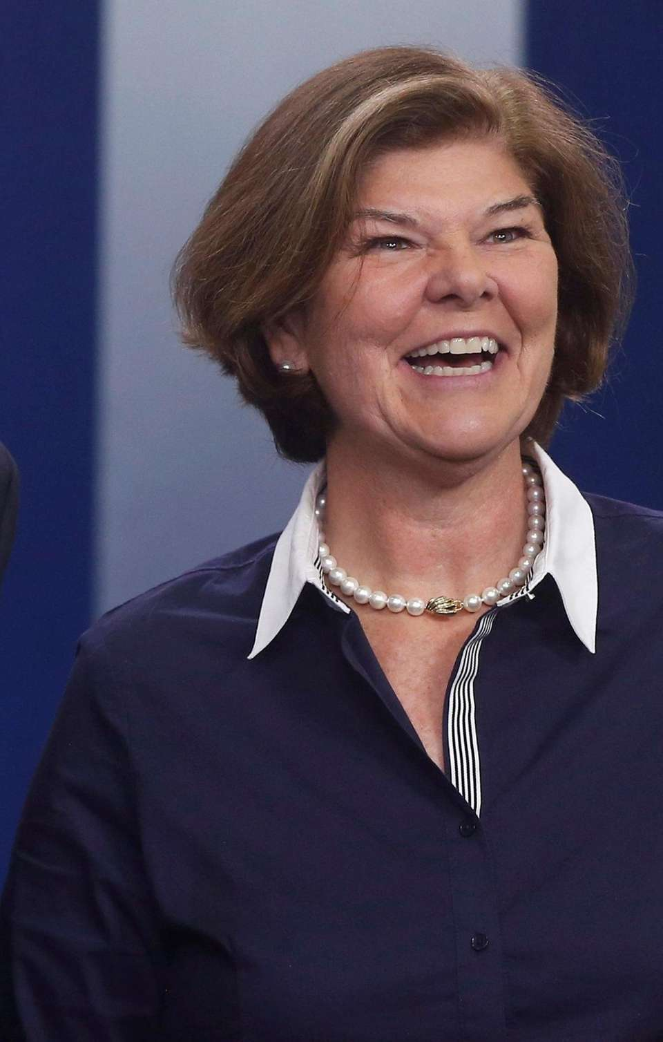Ann Compton of ABC News, who is retiring