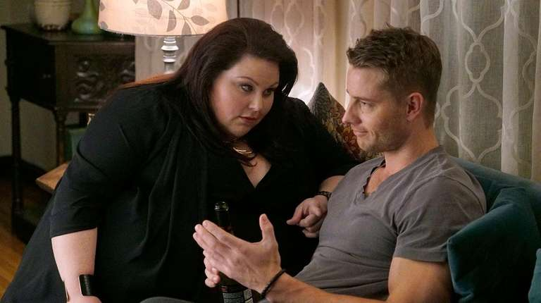 Chrissy Metz and Justin Hartley play siblings in