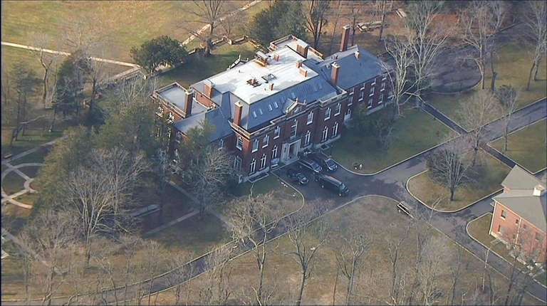 This Upper Brookville mansion owned by the Russian
