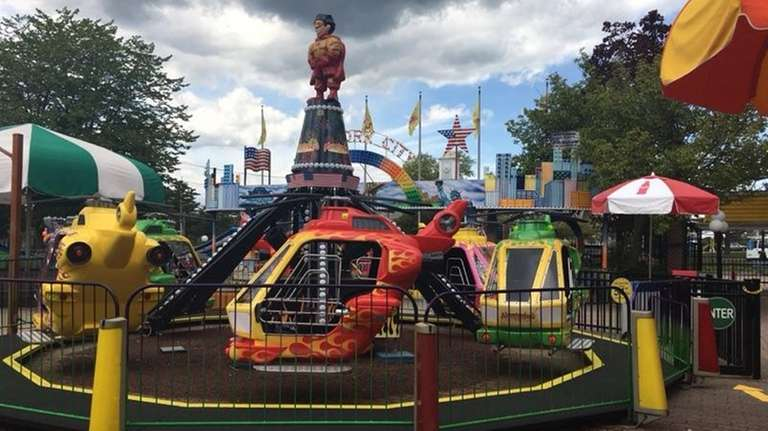 The Helicopter Ride is new to Adventureland and