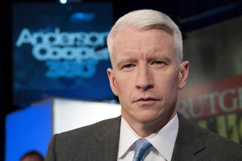 Journalist and TV personality Anderson Cooper was born