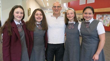 Long Island author Gordon Korman at the Great