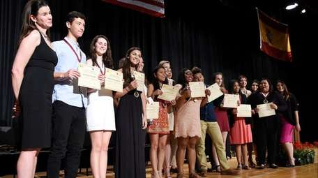 Students in the Southampton school district's International Spanish