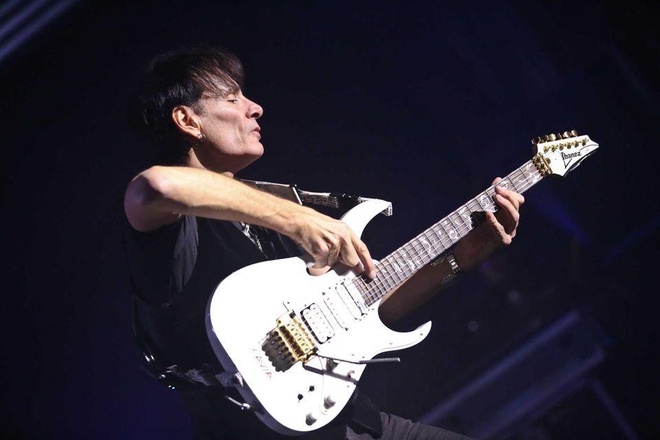Guitarist Steve Vai was born on June 6,