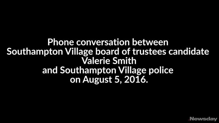 Southampton Village board of trustees candidate Valerie Smith