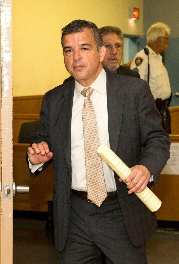Attorney Michael DerGarabedian is sentenced at the Nassau