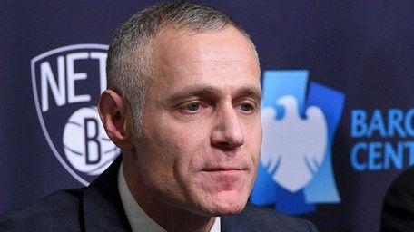 Brett Yormark, CEO, Brooklyn Sports & Entertainment, speaks