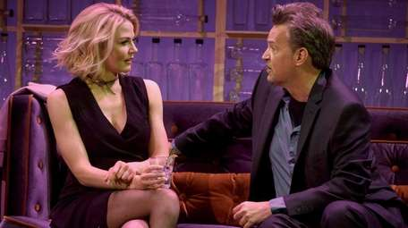Matthew Perry with Jennifer Morrison in his dramatic