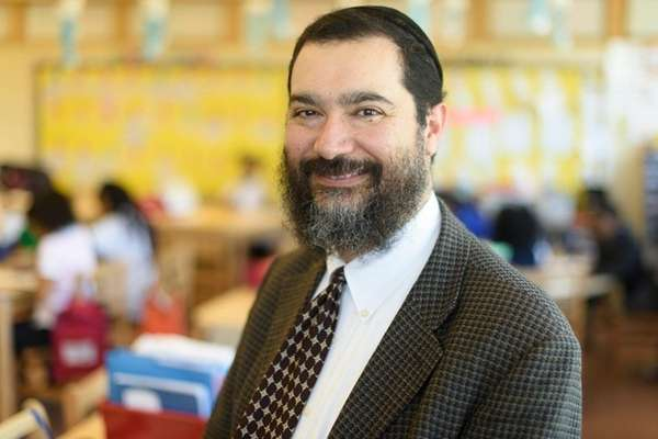 Shimon Waronker became superintendent of the Hempstead school