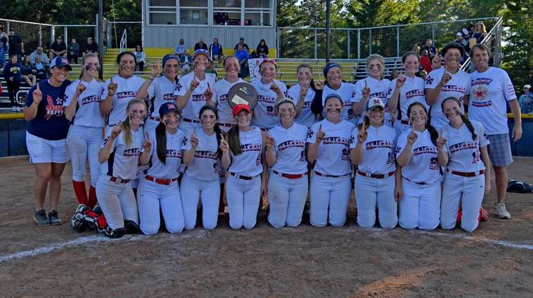 MacArthur poses after the Long Island Class A
