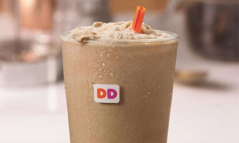 In 2017, Dunkin' Donuts introduced Frozen Dunkin' Coffee