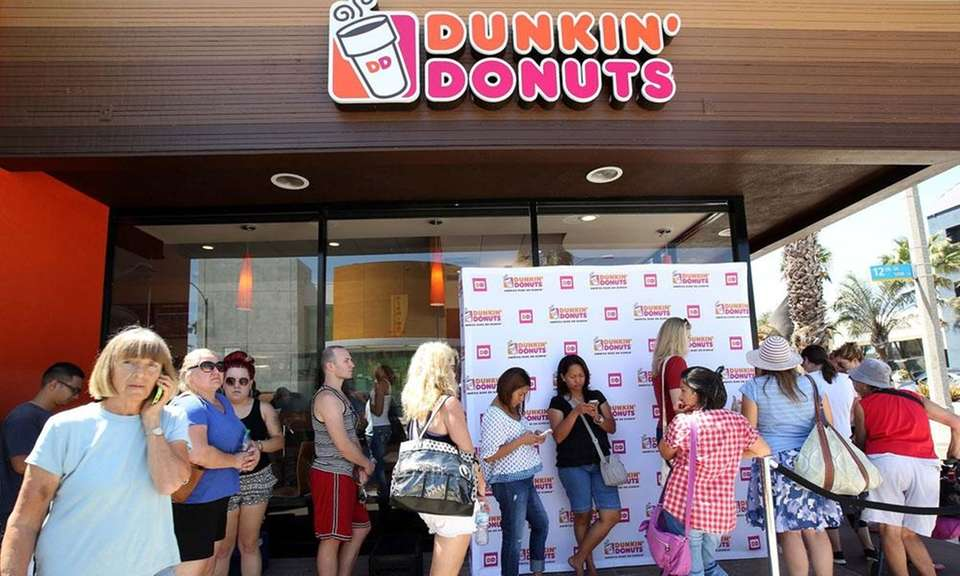 Dunkin' Donuts opened its 12,000th worldwide store in