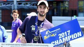 Yuval Solomon is the 2017 NYSPHSAA boys tennis