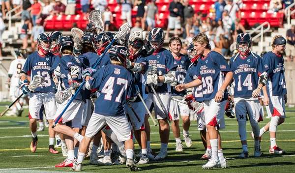 Cold Spring Harbor celebrates after the Long Island
