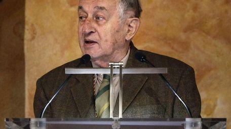 Juan Goytisolo won the Cervantes Prize in 2014.