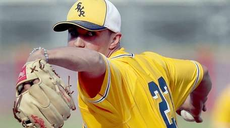 Shoreham-Wading River pitcher Brian Morrell set school records