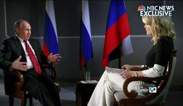 Vladimir Putin Says the U.S