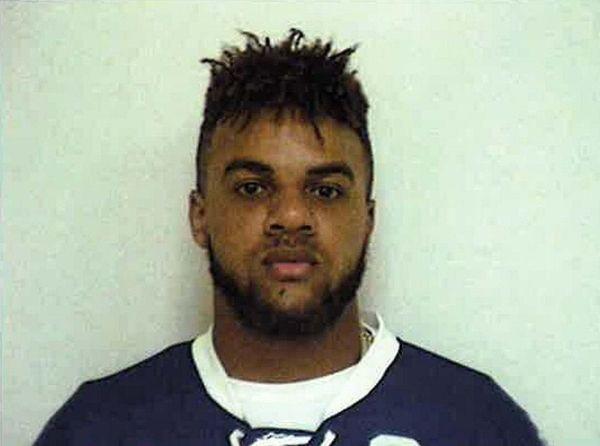 Giants wide receiver Roger Lewis Jr. was arrested