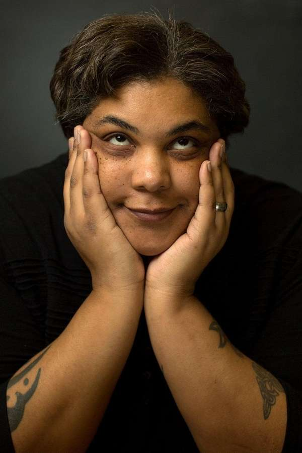 Roxane Gay is reflective in