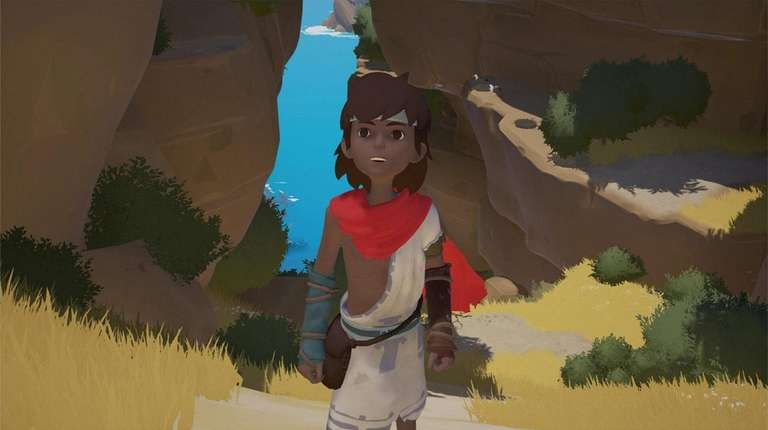 In the adventure-puzzle game Rime, you play a