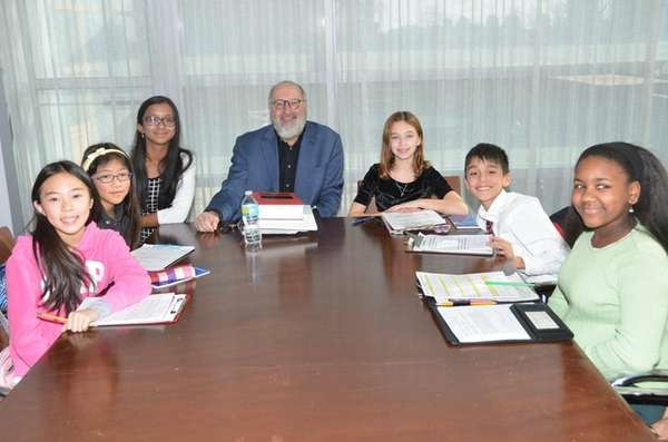 Mark Barenberg, Columbia Law School professor, with Kidsday