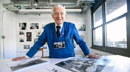 Tony Vaccaro, 94, in his Long Island City