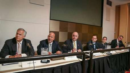 The Nassau Interim Finance Authority meets in Uniondale