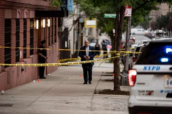 Police investigate the shooting of a 5-year-old boy