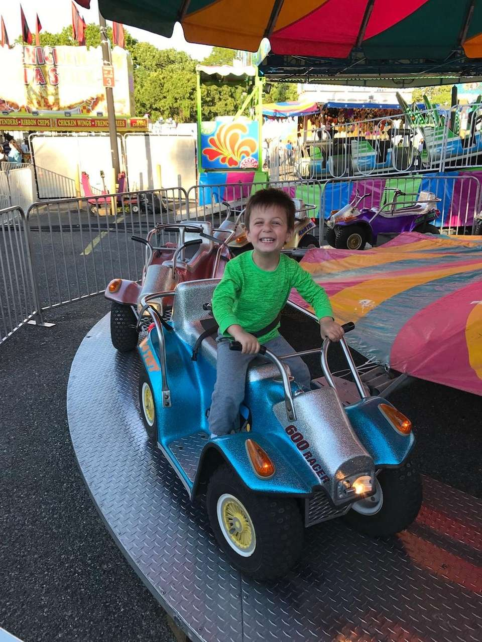 Rocco, last weekend, at Brookhaven fair.