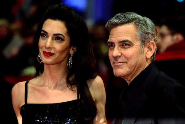 Amal and George Clooney welcomed twins, Ella and