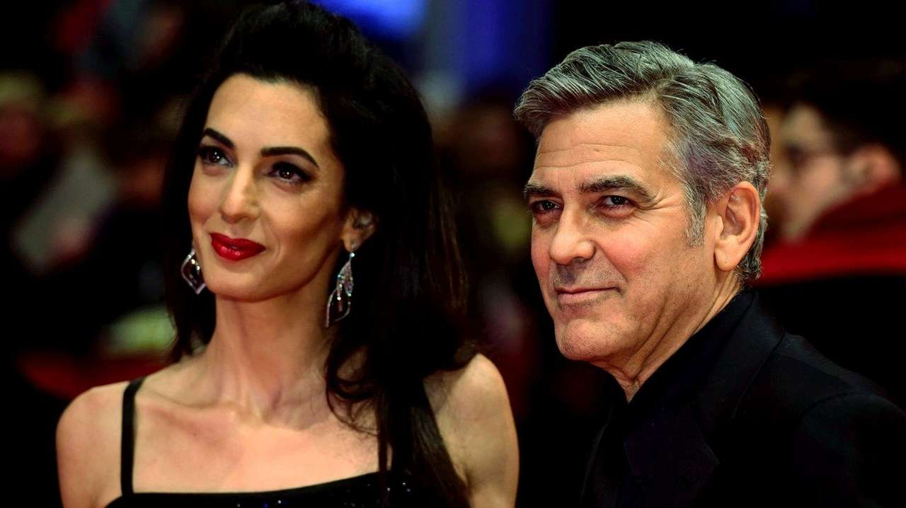 George, Amal Clooney welcome twins, Ella and Alexander ...