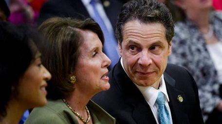 Gov. Andrew M. Cuomo and House Democratic Leader