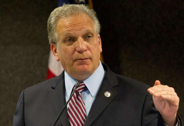 Nassau County Executive Edward Mangano at a meeting